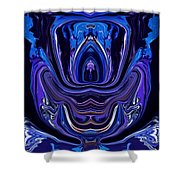 Abstract 174 Shower Curtain by J D Owen