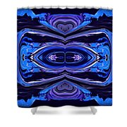 Abstract 175 Shower Curtain