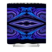 Abstract 176 Shower Curtain by J D Owen