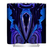 Abstract 177 Shower Curtain by J D Owen
