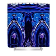 Abstract 178 Shower Curtain by J D Owen