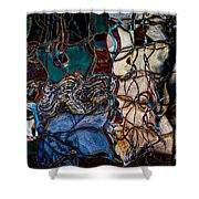 Abstract 1785 Shower Curtain