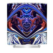 Abstract 179 Shower Curtain by J D Owen