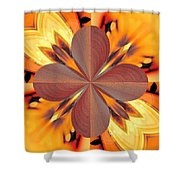 Abstract 180 Shower Curtain