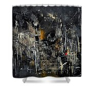 Abstract 184150 Shower Curtain