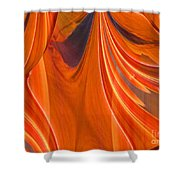 Abstract 201 Shower Curtain