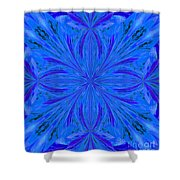 Abstract 206 Shower Curtain