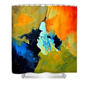 Abstract 211102 Shower Curtain
