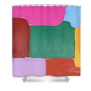 Abstract 216 Shower Curtain by Patrick J Murphy