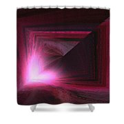 Abstract 231 Shower Curtain