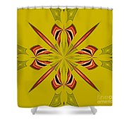 Abstract 234 Shower Curtain