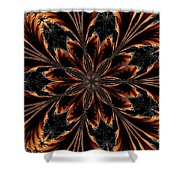 Abstract 288 Shower Curtain