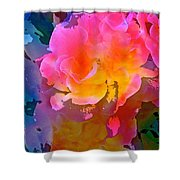 Abstract 299 Shower Curtain