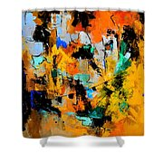 Abstract 315002 Shower Curtain