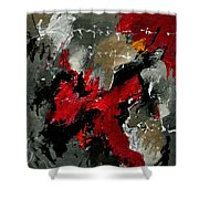 Abstract 3341201 Shower Curtain