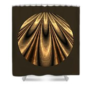 Abstract 338 Shower Curtain
