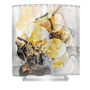 Abstract 393-08-13 Marucii Shower Curtain