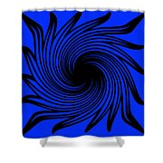 Abstract #4 Shower Curtain