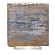 Abstract 408 Shower Curtain