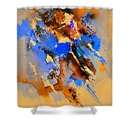 Abstract 4110212 Shower Curtain