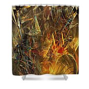 Abstract 412-08-13 Marucii Shower Curtain
