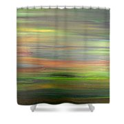 Abstract 417 Shower Curtain