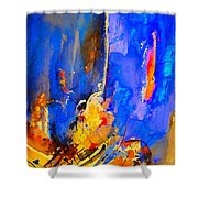 Abstract 434180 Shower Curtain