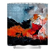 Abstract 553101 Shower Curtain