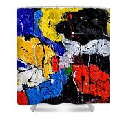 Abstract 55315080 Shower Curtain