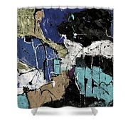 Abstract 553150802 Shower Curtain