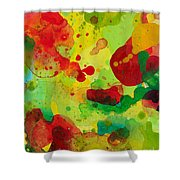 Abstract 63 Shower Curtain