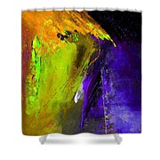 Abstract 6325 Shower Curtain