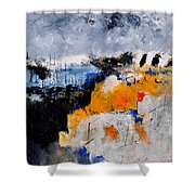 Abstract 66211142 Shower Curtain