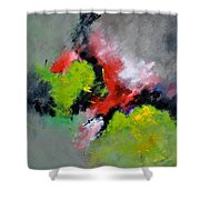 Abstract 6631201 Shower Curtain