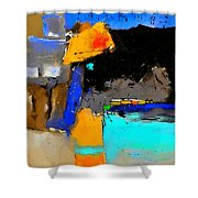 Abstract 664150 Shower Curtain
