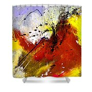 Abstract 693154 Shower Curtain