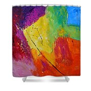 Abstract 77411112 Shower Curtain