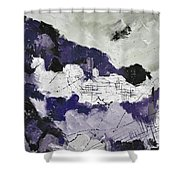 Abstract 7880 Shower Curtain