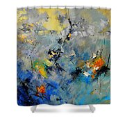 Abstract 88212082 Shower Curtain