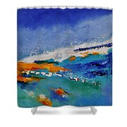 Abstract 88319091 Shower Curtain