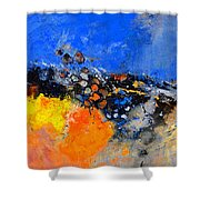 Abstract 88411133 Shower Curtain