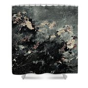 Abstract 9712072 Shower Curtain