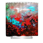 Abstract 975231 Shower Curtain