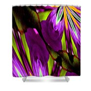 Abstract A03 Shower Curtain