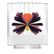 Abstract A030 Shower Curtain