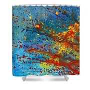 Abstract - Acrylic - Just Another Monday Shower Curtain by Mike Savad