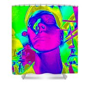 Abstract Andy Shower Curtain