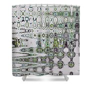 Abstract Approach II Shower Curtain