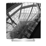 Abstract Architecture #2 Shower Curtain