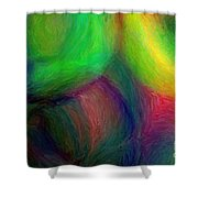 Journey - Abstract Art Shower Curtain